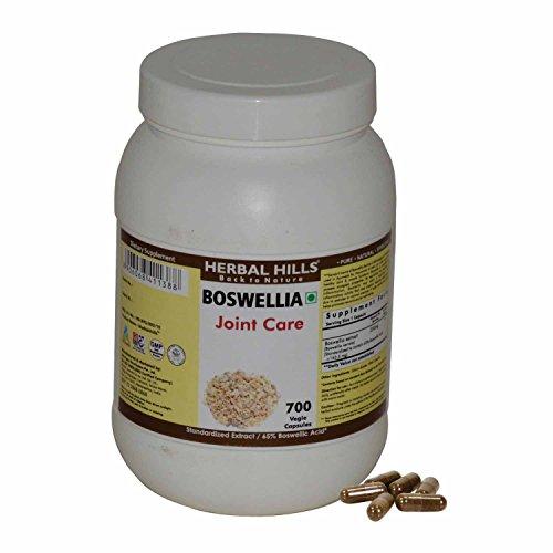 Preisvergleich Produktbild Herbal Hills Boswellia 700 Vegie Capsules - Joint Care