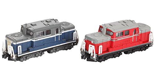 B train Shorty forme DD51 locomotive diesel Une voiture de mise ? jour mise ? jour (bleu) B de voiture (rouge) (2 voitures entrant locomotive) (japan import)