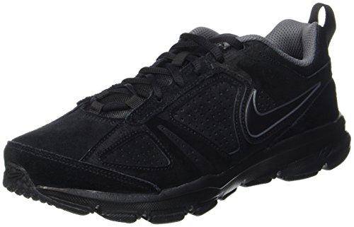 Nike t-lite xi nbk, scarpe da ginnastica basse uomo, nero (black/black-dark grey), 42 eu