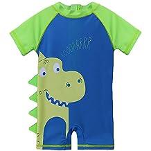 entrega gratis niño apariencia estética bañador bebe - Verde - Amazon.es