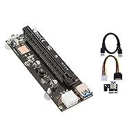 S-link SL-EX116 PCI-E 1x to 16x Sata 6pin Bitcoin Riser Ekran Kartı Yükseltici