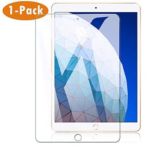 Hotbon Panzerglas Schutzfolie kompatibel mit iPad Air 3 2019 10.5 Zoll, [1 Stück] Premius 9H Hartglas Displayschutzfolie für iPad Air 3 2019 10.5 Zoll, HD Schutzhülle für iPad Air 3 2019
