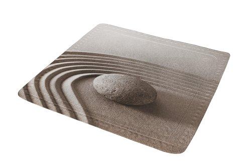 Kleine Wolke 5361271002 Duscheinlage Pebble, 55 x 55 cm, taupe
