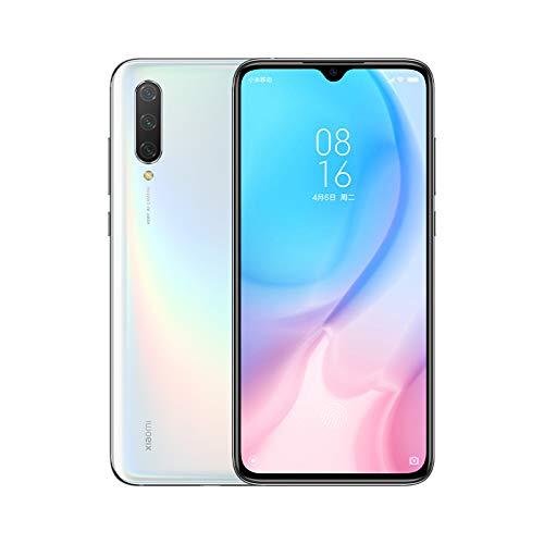 """Xiaomi Mi 9 Lite - Smartphone con Pantalla AMOLED FullHD de 6,39"""" (Qualcomm SD710 2.2GHz, Triple cámara de 48 + 8 + 2 MP y Selfie de 32MP, NFC, 4030 mAh, 6GB+64GB) Color Blanco【Versión Europea】"""