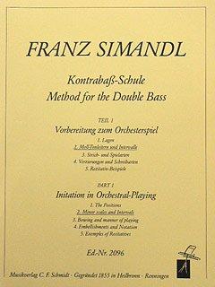 KONTRABASS SCHULE 2 - arrangiert für Kontrabass [Noten / Sheetmusic] Komponist: SIMANDL FRANZ