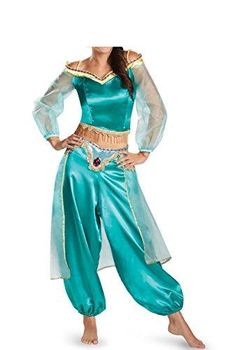 xiemushop Prinzessin Arabe Kostüm für Frauen Ballerina Cosplay Halloween Talla L (Busto 90cm) Eine ()