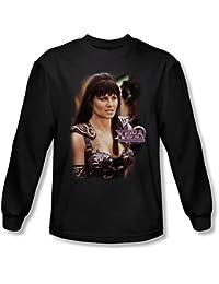 Xena: Warrior Princess - - Männer Warrior Princess Langarm-Shirt in Schwarz