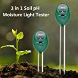 #8: 3 in1 Garden Plant Flowers Soil PH Tester Moisture Light Meter
