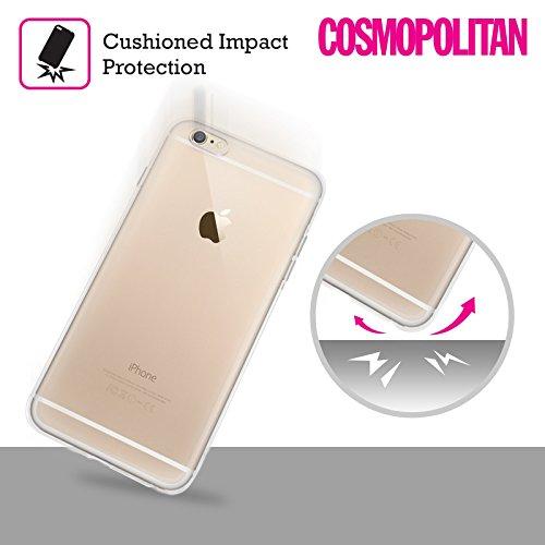 Official Cosmopolitan Blue Mix Boho Patterns Soft Gel Case for Apple iPhone X Blue Mix