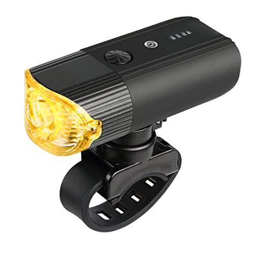 SHENKEY Bike Light Front USB Rechargeable Bicycle Light, 4000mAh/1200 Lumens LED Cycle Headlight Lamp IP65 Waterproof Bike Headlight for Cycling