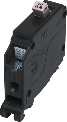 Cutler Hammer CH120 Circuit Breaker, 1-Pole 20-Amp by Connecticut Electric - Connecticut Electric Circuit Breaker