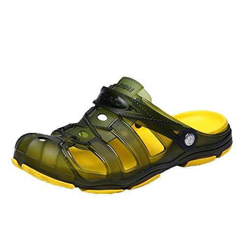 YEARNLY 2019 Neue Trend Pantoffel der Männer großes wildes Loch beschuht wasserdichte Sommersandalen Strand Sandale Schuhe Sommer 40-44
