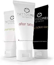 TattooMed Tattoo-verzorgingsset, complete medische huidverzorging voor getatoeëerde huid, verpakking van 3 (3