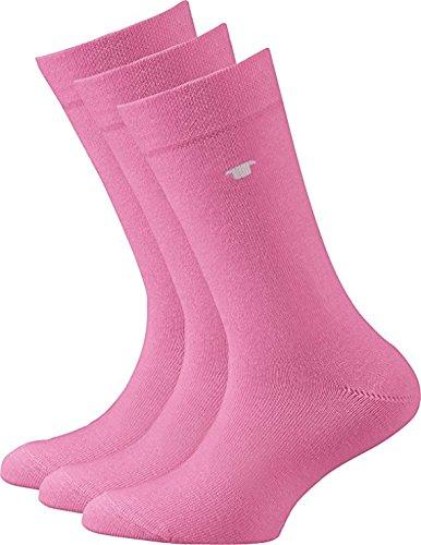 Tom Tailor Socken 3er-Pack pink Größe 27 / 30