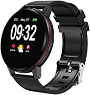 Decdeal Fitness Tracker Smart Watch Waterproof Activity Tracker with Heart Rate Monitor Sleep Monitors Blood P