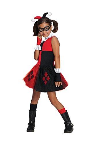 Rubie's Harley Quinn Kostüm Tutu für - Mädchen Harley Quinn Tutu Kostüm