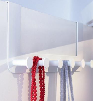 IKEA Colgador Blanco puerta - Ganchos colgante puerta
