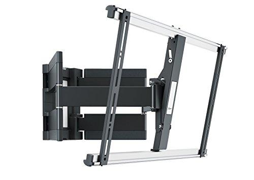 Vogel\'s THIN 550 TV-Wandhalterung für 102-254 cm (40-100 Zoll) Fernseher, schwenkbar und neigbar, max. 25 kg, Vesa max. 600 x 400, schwarz