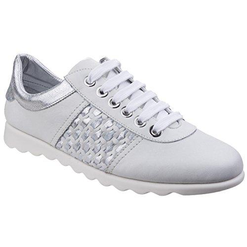 Flexx, Sneaker donna blank Bianco argento