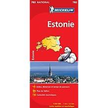 Carte NATIONAL Estonie
