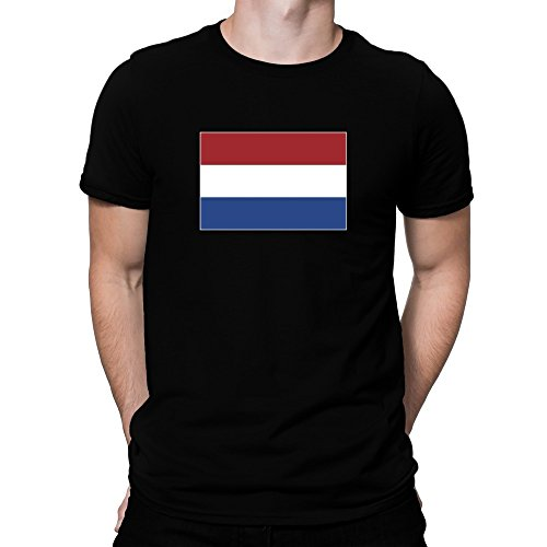 Netherlands Flag-t-shirt (Teeburon Netherlands Flag T-Shirt)