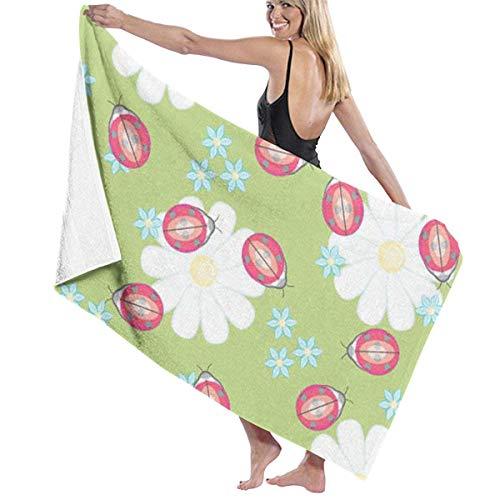 Novelcustom Cute Dog Bowls Bone Prints Bath Towel Wrap Womens Spa Shower and Wrap Towels Swimming Bathrobe Cover Up for Ladies Girls -