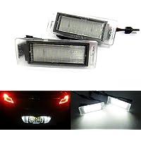 Do LED A23LED License Plate Lights for 7Series E65//E66//E67Xenon White with E Certification Mark