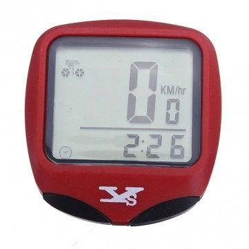 High Quality Bike Computer Wired Wasserdichte Fahrradtachometer - Black