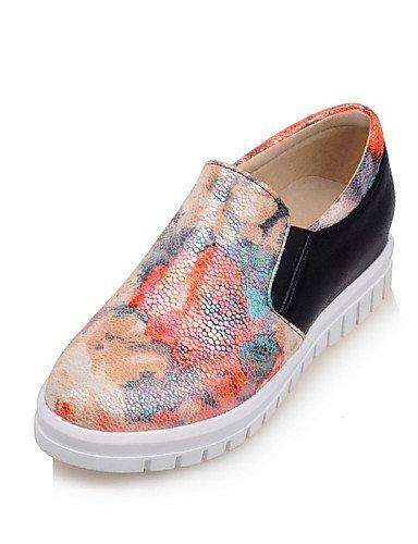Shangyi Gyht Chaussures Femme-ballerines-loisirs / Bureau Et Travail / Soirée Et Soirée / Chaussures Confortables / Casual / Sports-rounded Flat-black-flat