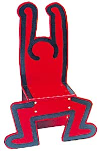 Vilac Chaise enfant Keith Haring rouge