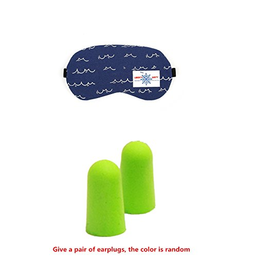 maschera per gli occhi gel composto di raffreddamento per Dormire Viaggio Xagoo® calda o fredda (Raffreddamento Strap)