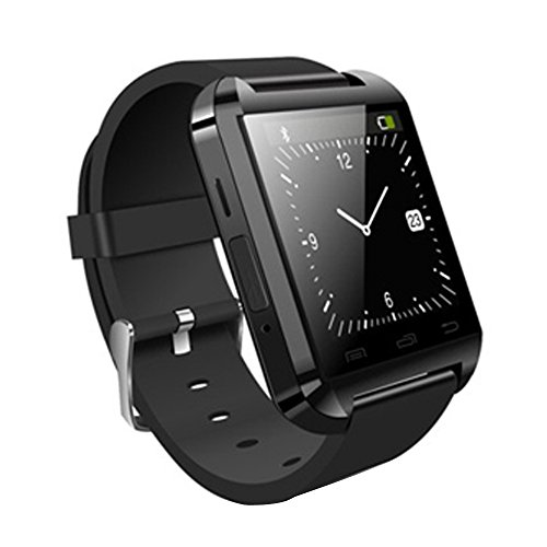 "MEMTEQ? Bluetooth Smart Watch-Reloj inteligente 1,54? ""pantalla táctil con Cam š Š RA de 1,3MPs Andorid para teléfono Samsung, HTC, LG y Huawei/ZTE Argent......"