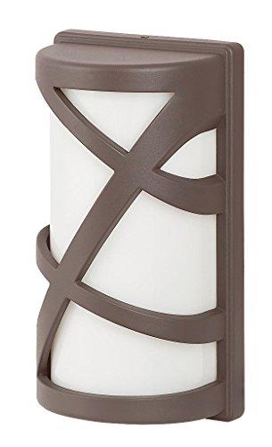 RABALUX 8766 A++ to E, Außendwandleuchte Durango, Metall, E27, Braun, 9, 8 x 14.6 x 26.7 cm