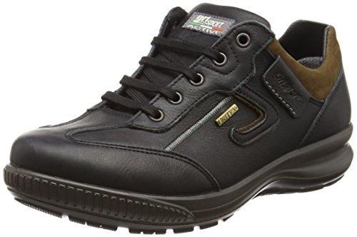 Grisport arran, scarpe da arrampicata basse uomo, nero (black), 43 eu