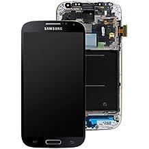 Network Cloud/Samsung GALAXY S4 GT-I9500 y I9505 de Pantalla LCD Táctil de Cristal Para Samsung COMPLETO BLACK EDITION