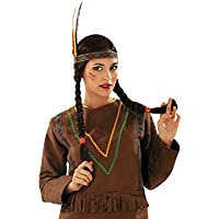 My Other Me - Peluca india con trenzas (Viving Costumes 201387)