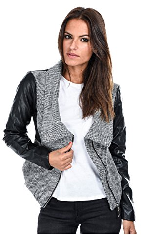 bamboo-s-chaqueta-emilie-mujer-m-gris