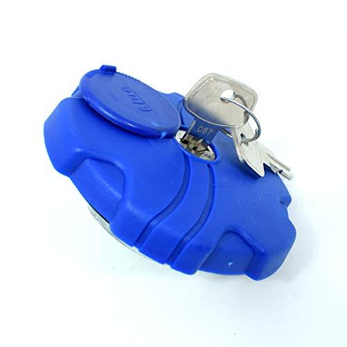 AdBlue Cache ventilé de 60 mm avec 2 clés, couvercle de réservoir