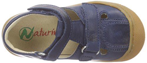 Naturino Jungen 3996 Sandalen Blau (NAPPA SPAZZOLATA NAVY)
