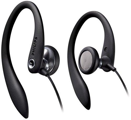 Philips SHS3300BK - Auriculares In-Ear con clip (gancho D Flex ergonó