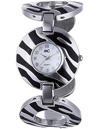 MC Timetrend Damen-Armbanduhr Analog Quarz Metallband 50514