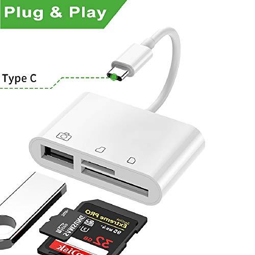 Lector de tarjetas USB C SD / TF