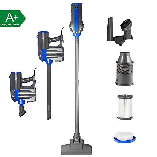 Balter Vento H1 Zyklon-Staubsauger - ✓ 600 Watt Saugleistung ✓ Beutellos ✓ Wandhalterung + Zubehör ✓ HEPA-Filter ✓ Ultra leicht ✓ Handstaubsauger ✓ Blau