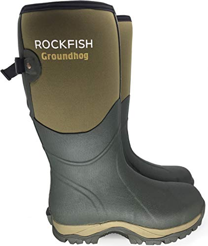 Rockfish Mens Groundhog Wellies UK9