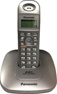 Panasonic Single Line 2.4GHz KX-TG3611SXB Digital Cordless Telephone  available at amazon for Rs.1899