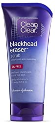 CLEAN CLEAR Blackhead Eraser Scrub Oil-Free 5 oz