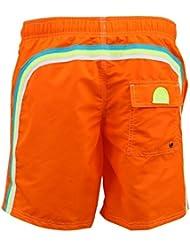 Short de bain Homme Sundek 505 Vibrant Orange