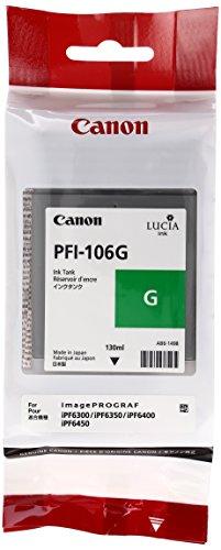 Canon 6628B001 Tintenpatrone PFI-106G, grün
