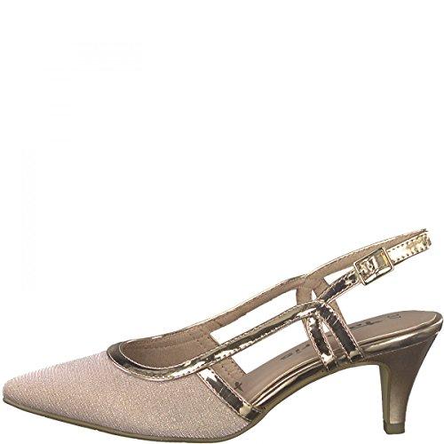 Tamaris 29610, Sandali con Cinturino alla Caviglia Donna Rosa (Rose Glam)