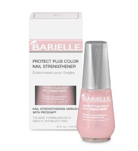 Barielle Protect Plus Color Nail Strengthener (Dark Pink) 14.8 ml (Nagelstärkung) - Pink-nail-strengthener